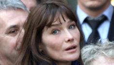 Is French First Lady Carla Bruni-Sarkozy pregnant?
