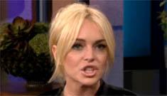 Lindsay Lohan on where she sees herself in 6 years: hopefully I've won an Oscar