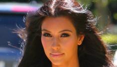 Kim Kardashian's Size 4 kat-face got Snooki'd