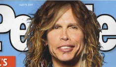 If Steven Tyler could snort adrenaline and fame, he would