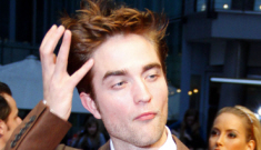 Robert Pattinson's shiny brown suit: a bold choice or a bad call?