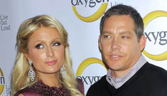 Paris Hilton's boyfriend attacked by stalker outside of court