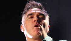 "Morrissey blasts the royal wedding, calls royal family ""benefit scroungers"""