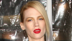 January Jones is pregnant: does she know who the father is?