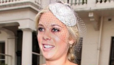 Chelsy Davy in Alberta Ferretti: braless hot mess or… cute?