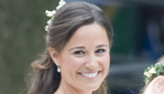 Pippa Middleton wore McQueen too: wasn't she pretty?