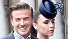 Victoria & David Beckham released an official statement on the royal wedding