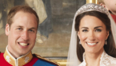 Prince William & Catherine's honeymoon delayed, royal portraits released