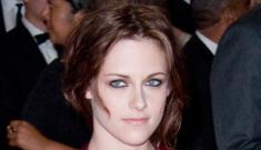 Kristen Stewart in Proenza Schouler at the Met Gala: lip-biting disaster or pretty?