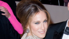 Sarah Jessica Parker in McQueen at the Met Gala: Streisand-esque?