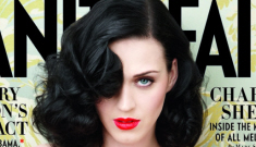 Katy Perry's boobs made the June cover of Vanity Fair:   tacky, meh or cute?