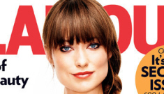 Olivia Wilde's single-lady bangs trauma covers   Glamour: cute or fug?