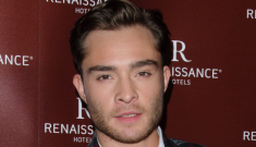Ed Westwick versus Adrien Brody: Who does smarmy-hot better?