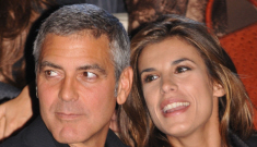 George Clooney celebrates his 50th b-day with Elisabetta