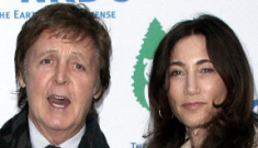 Paul McCartney bought Nancy Shevell a $650K engagement ring, no prenup?!?