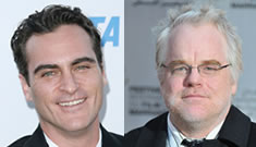 Paul Thomas Anderson's CO$ film set with Joaquin Phoenix and Philip Seymour Hoffman
