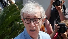 """Woody Allen defends Carla Bruni: """"She was no problem, she was very natural"""""""