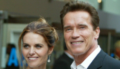 """Arnold Schwarzenegger wants to get back together & Maria Shriver is all """"meh"""""""