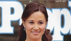 Pippa Middleton is the single princess/celebrity we've been waiting for
