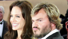 """Angelina Jolie gave Jack Black's wife """"one of the sweetest gifts of all time"""""""