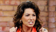 Shania Twain bars ex husband's mistress from seeing her son