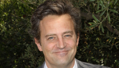 Matthew Perry is in rehab (again) & he says it's okay to make fun of him
