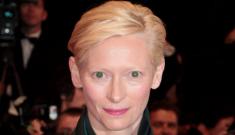 Tilda Swinton in Haider Ackermann at Cannes: lovely or alien fug?