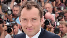 """Jude Law ruefully admits: """"I'm too old to be a lothario"""""""