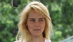 Isabel Lucas goes yellow blonde – pretty or generic?