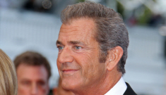 Mel Gibson at 'The Beaver' premiere in Cannes: reptilian, leathery or just gross?