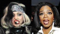 Lady Gaga ousts Oprah      from #1 on Forbes Celebrity 100 list