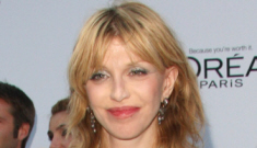 Courtney Love in cracked-out Givenchy: hot mess or pulled together?