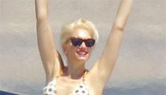 Gwen Stefani in a bikini: 'look at me, I'm so hot' or 'innocent sunbathing'?