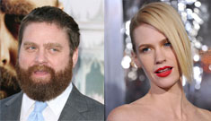 "Zach Galifianakis rips January Jones ""everybody's going to forget about you"""