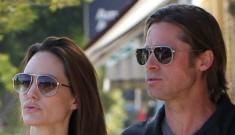Angelina Jolie & Brad Pitt go shopping for Shiloh's fifth birthday