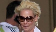 Katherine Heigl's latest hairstyle: cotton candy grandma chic?