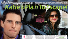 Katie's no-longer secret plan to escape Tom's clutches