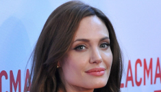 """Angelina Jolie on Brad Pitt: """"Physically he's a real man, in all things that it means"""""""
