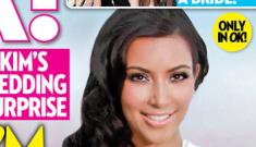 Is Kim Kardashian rushing her wedding because she's pregnant?