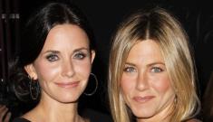 BFFs Jennifer Aniston & Courteney Cox breakup, CC is the new Brad Pitt