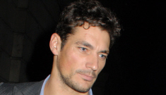 David Gandy has a new girlfriend, and she seems like a dumb famewhore