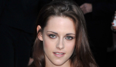 Kristen Stewart in another Balmain minidress in London: cute or tragic?