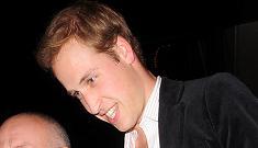 Prince Williams flirts with Paris Hilton in London