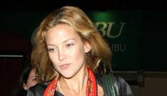 Kate Hudson is no longer wearing her wedding ring