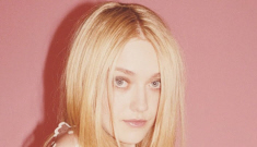 "Dakota Fanning's latest ""Lolita-styled"" Marc Jacobs ad: gross or meh?"
