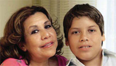 Arnold's housekeeper Mildred Baena says she never told Arnold about his son