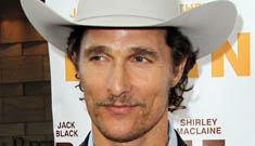 Matthew McConaughey's new mustache: porny or hot?