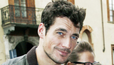 David Gandy's loveliness can now be viewed in book form