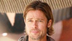 Brad Pitt's post-apocalyptic vision involves man-scarves
