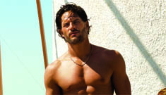 True Blood's hottest werewolf Joe Manganiello shirtless in GQ